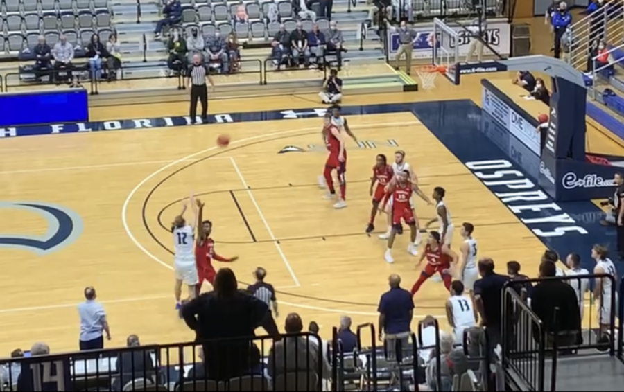 Late push not enough as UNF loses close one to FAU in MBB home opener