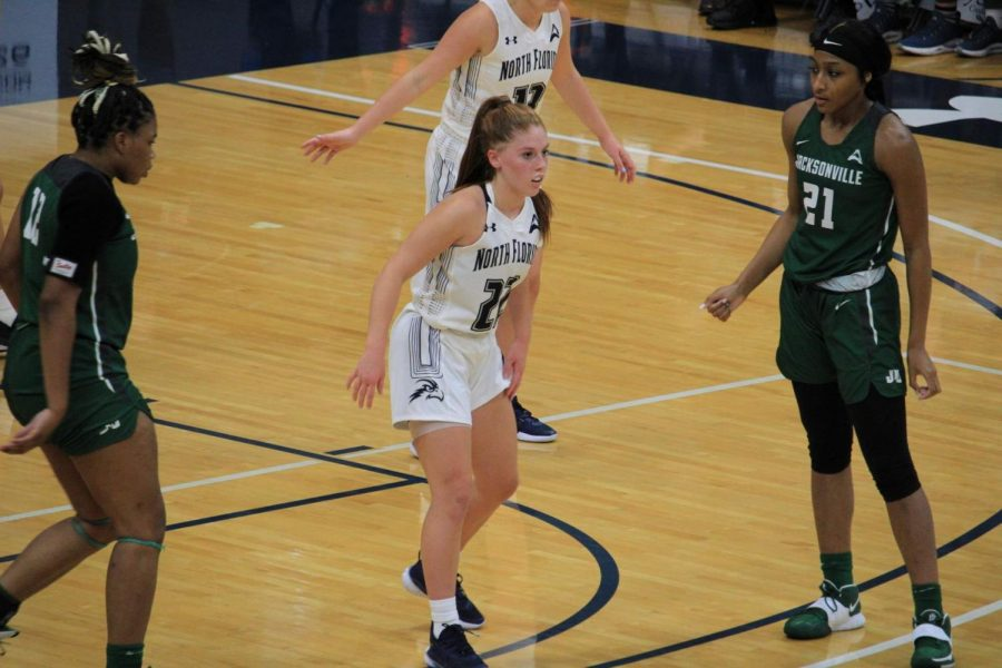 Ospreys WBB knock off Liberty to complete home sweep of Flames