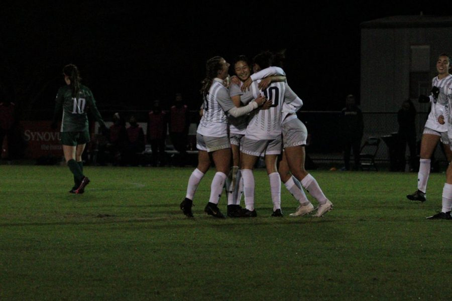 Women's soccer returns and dominates after 461 days in between matches