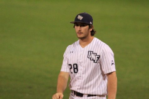 Thanks to two home runs by graduate transfer Alex Kachler, the Ospreys were able to defeat the Bulldogs in Athens on Friday night
