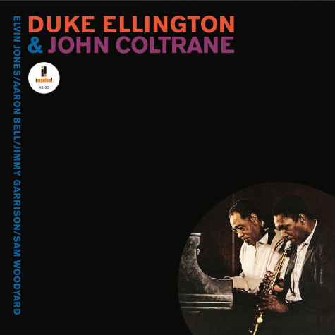 Album cover art for Duke Ellington and John Coltrane