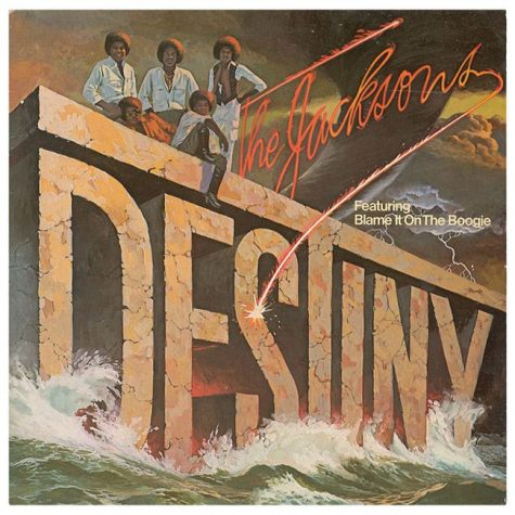 Album cover art for Destiny by The Jacksons