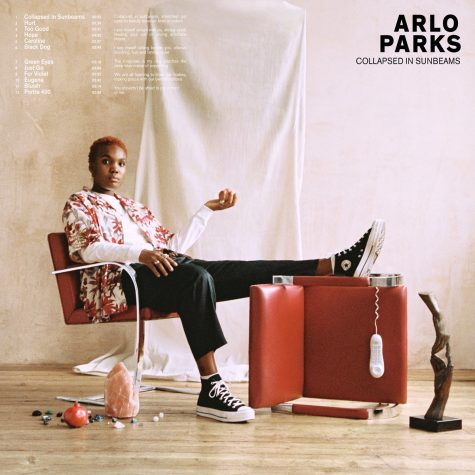 Album cover art for Collapsed in Sunbeams by Arlo Parks