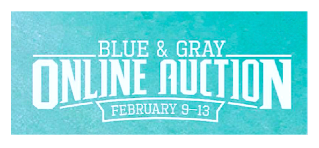Blue & Gray Online Auction now live