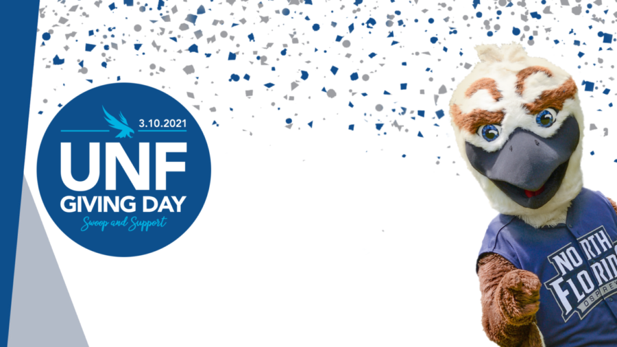 Photo courtesy of UNF / UNF Giving Day Zoom background