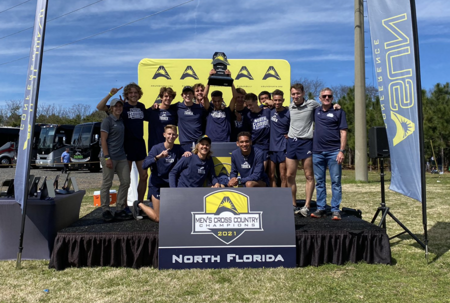 UNF men's cross country wins ASUN championship