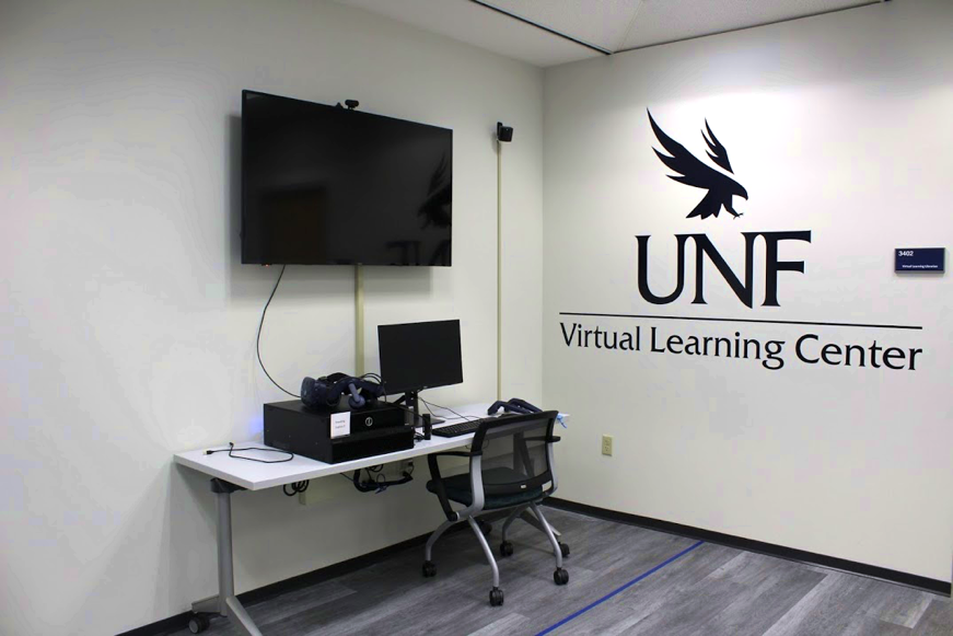 UNF Virtual Learning Center / Photo by Justin Nedrow