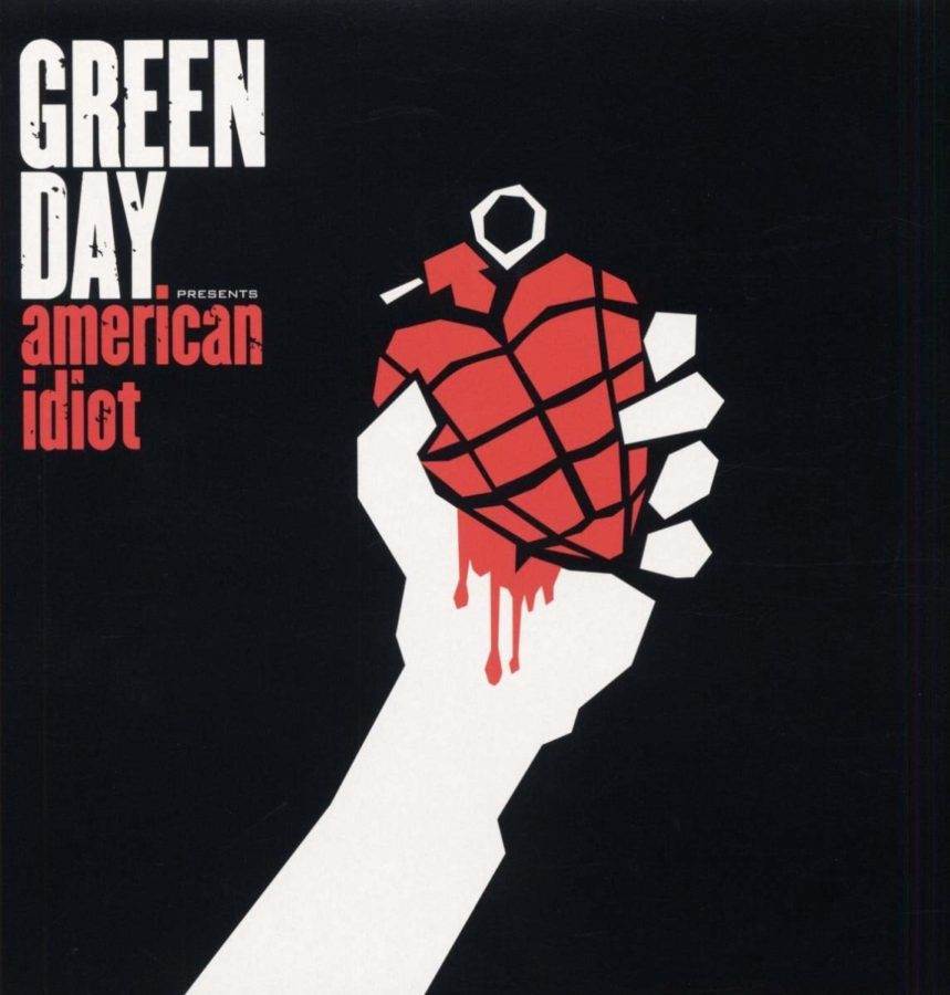 Album cover art for American Idiot by Green Day