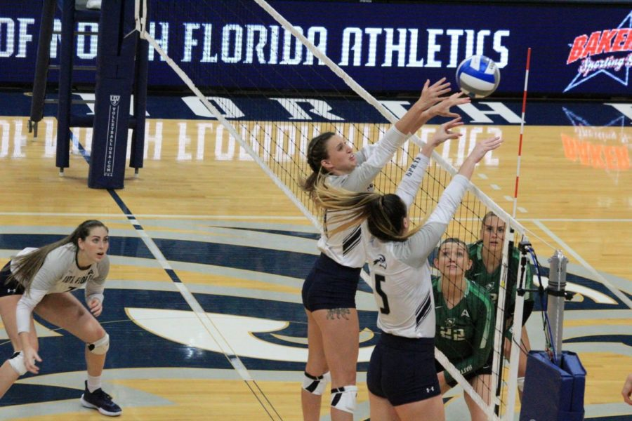 UNF volleyball suffers season-ending loss to Lipscomb in ASUN semis