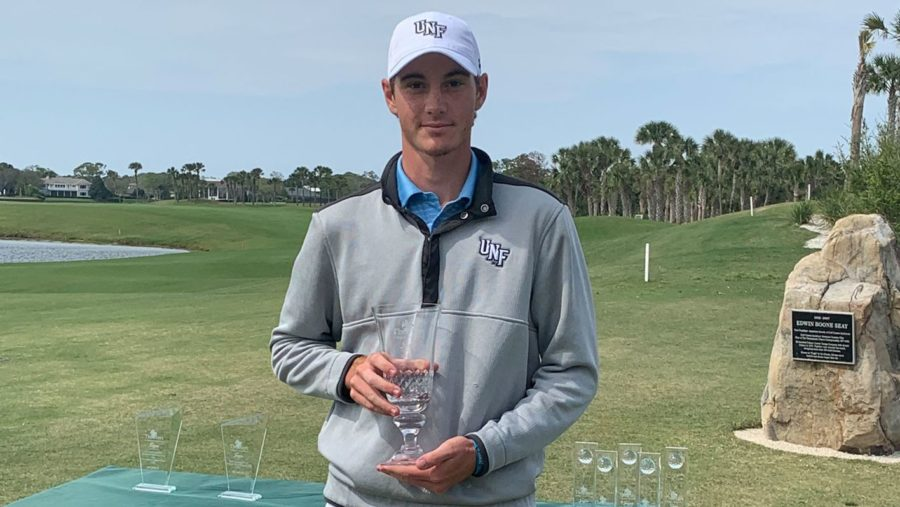 Three titles and number one in the country as a freshman, UNF golfing sensation Nick Gabrelcik is hungry for more