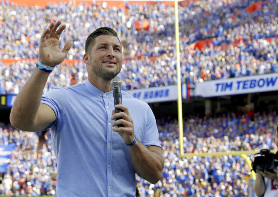 Tebow is looking to make his return to the NFL after last being seen in training camp with the Eagles in 2015