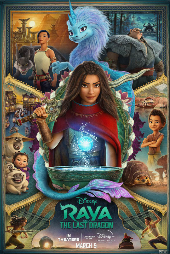 Drive-in Movie Night tonight: Disneys Raya and the Last Dragon