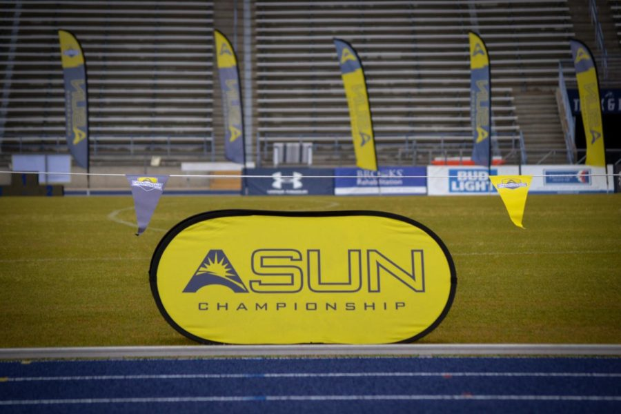 Jubran's record-setting performance highlights first day of ASUN Outdoor Championships
