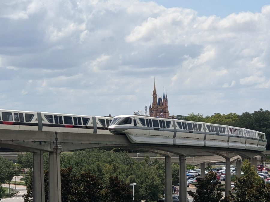 The Magic Kingdom Park and Monorail / Photo by Nathan Turoff