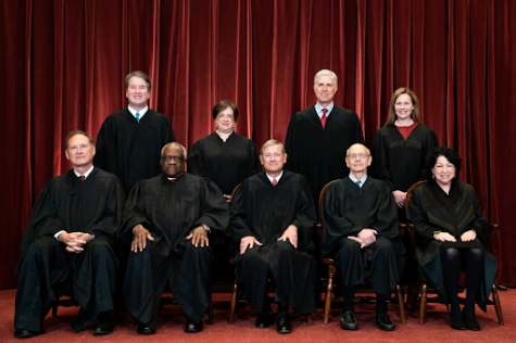 Image of the 2021 United States Supreme Court Justices.