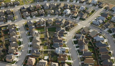This April 13, 2019, file photo, shows homes in suburban Salt Lake City.  Two studies released Wednesday, June 16, 2021, found that the nation
