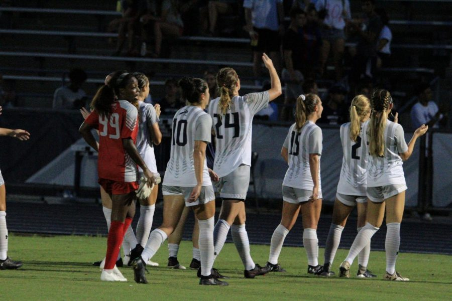 Late heroics prove the difference as women's soccer defeats Mercer in home opener