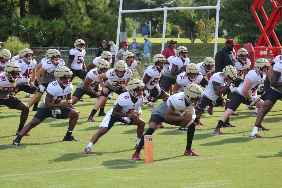 Photo Gallery: FSU football practices at UNF