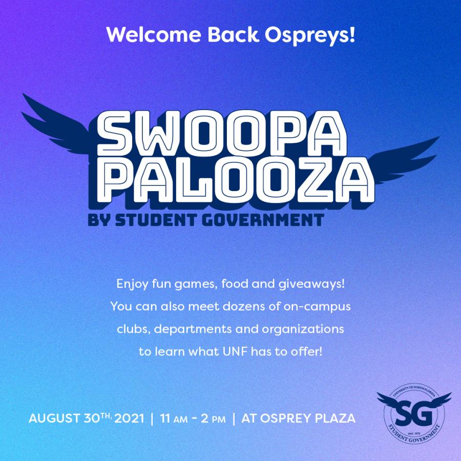 Swoopapalooza happening soon to start the fall semester