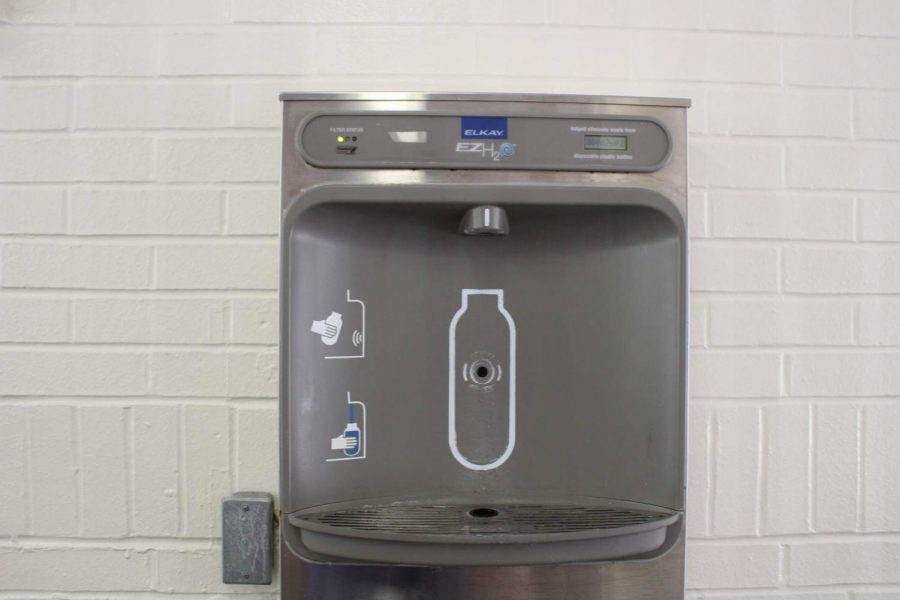 Water Fountain inequality on campus
