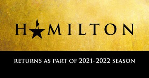 Announcement of Hamilton's rescheduled performances, courtesy of FSCJ.